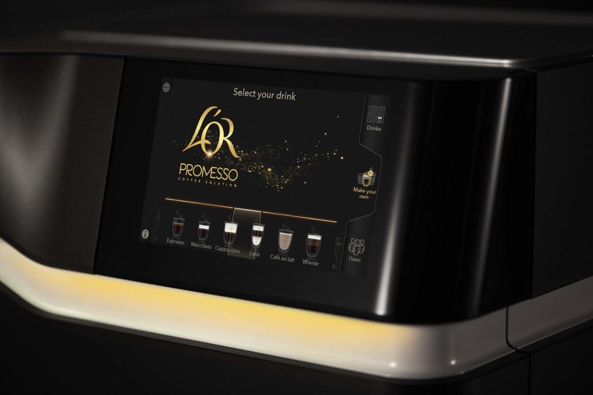 L'Or Promesso espresso machine