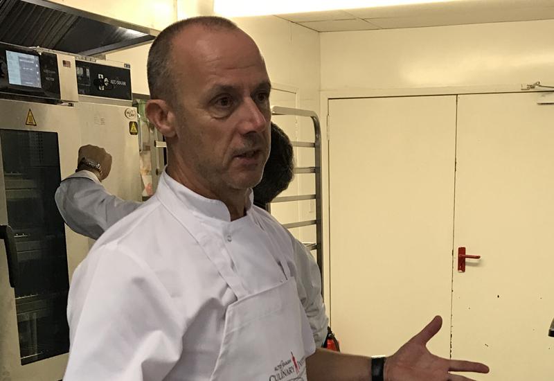 Alan Evans, corporate development chef