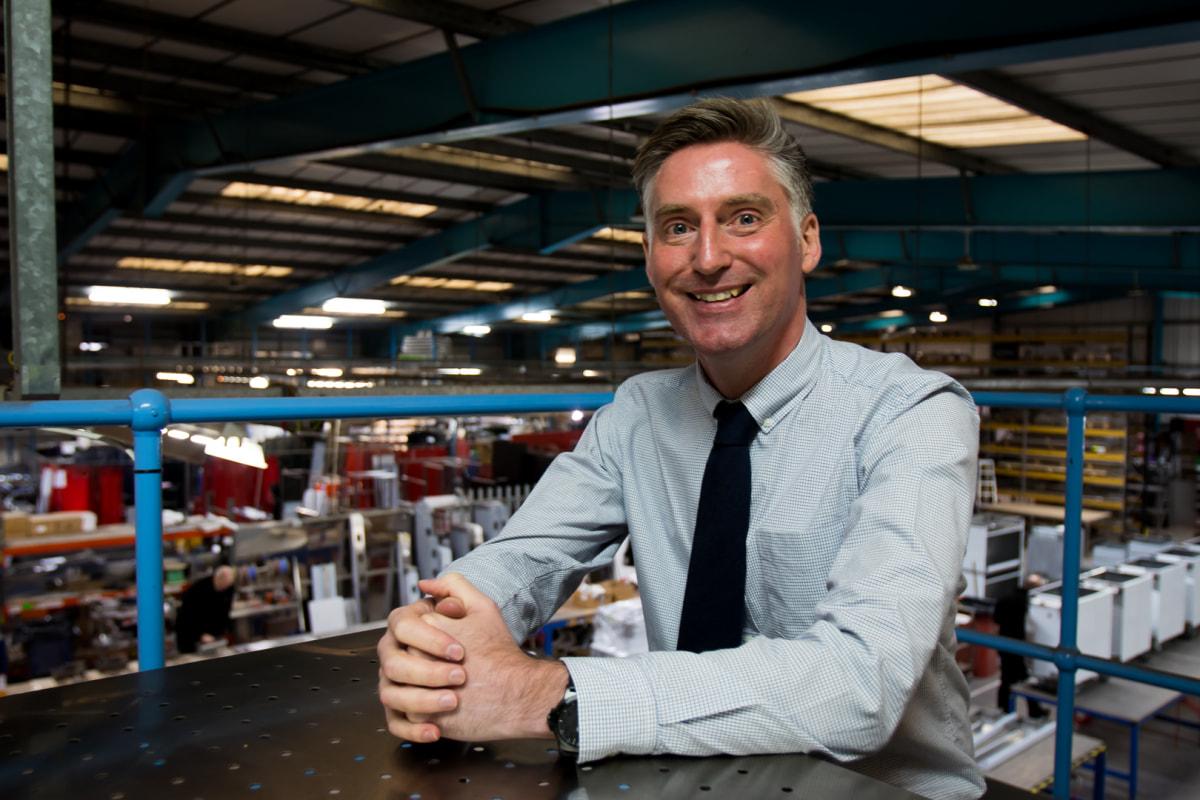 Euan Hunter, business development manager