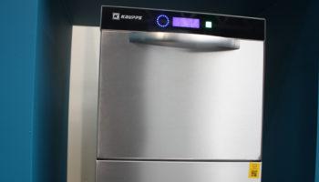 Krupps EL51E undercounter warewasher with Uniko Wi-Fi