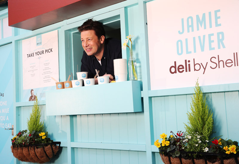 Jamie Oliver deli by Shell