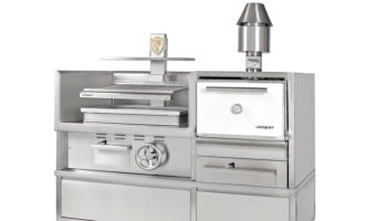 Josper Combo HJX enclosed oven and Basque open grill