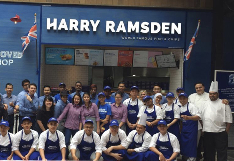 Harry Ramsden Genting Malaysia