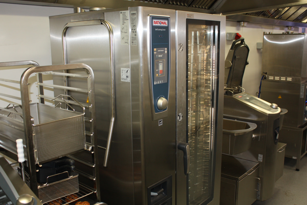 Rational demo kitchen