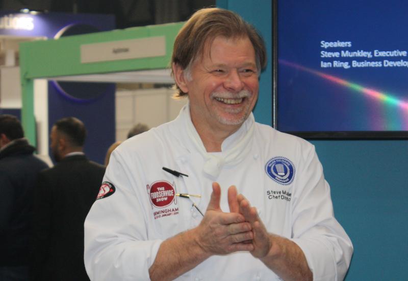 Steve Munkley, executive head chef