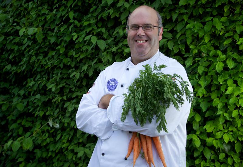 Darren Massey, corporate development chef