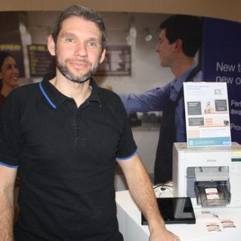 Dayle Guy, product manager, Epson UK