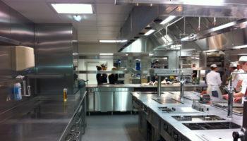 Royal Garden Hotel kitchen