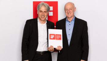 Harald Disch, director of warewash engineering Europe and global new technologies and Dietrich Berner, director of manufacturing