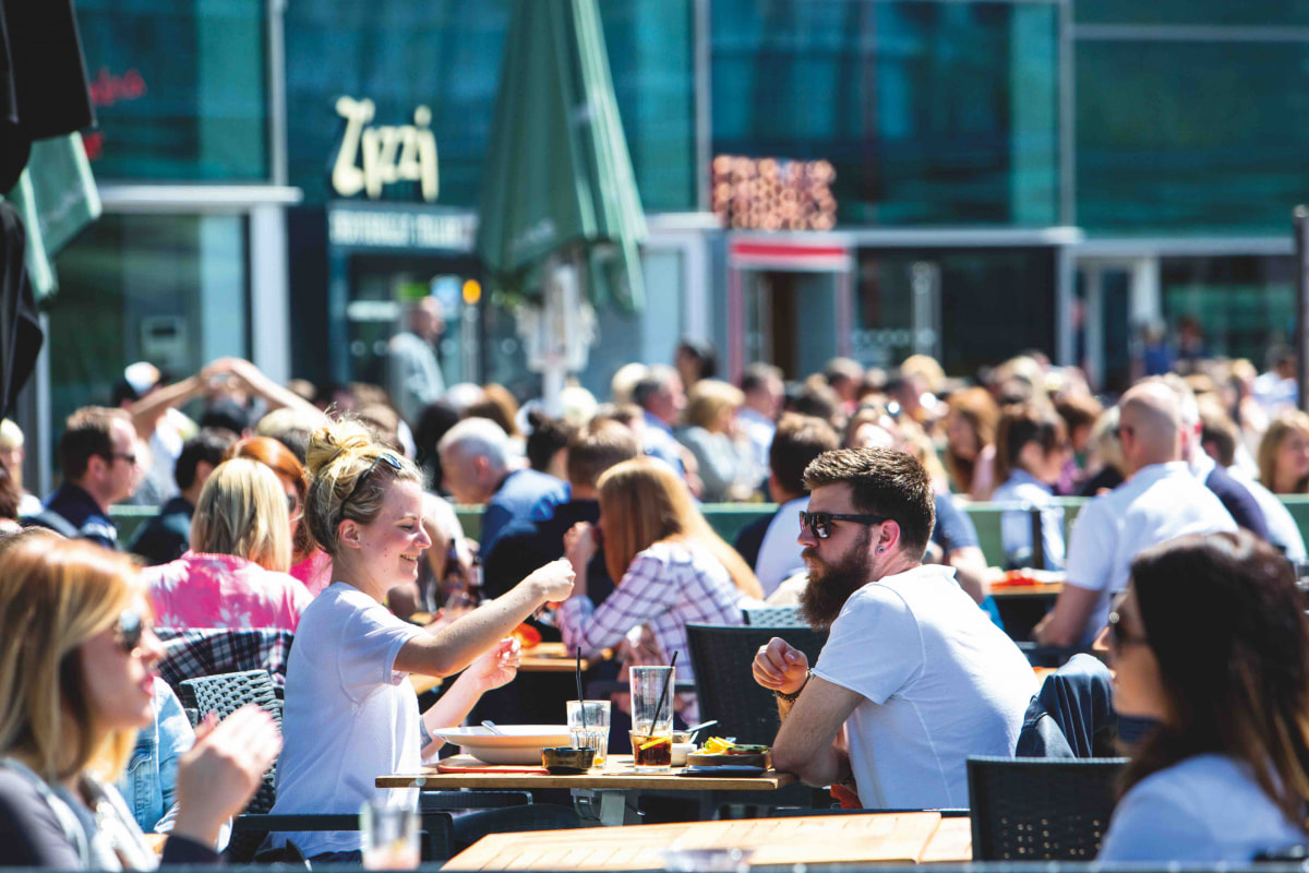 Liverpool ONE, The Terrace
