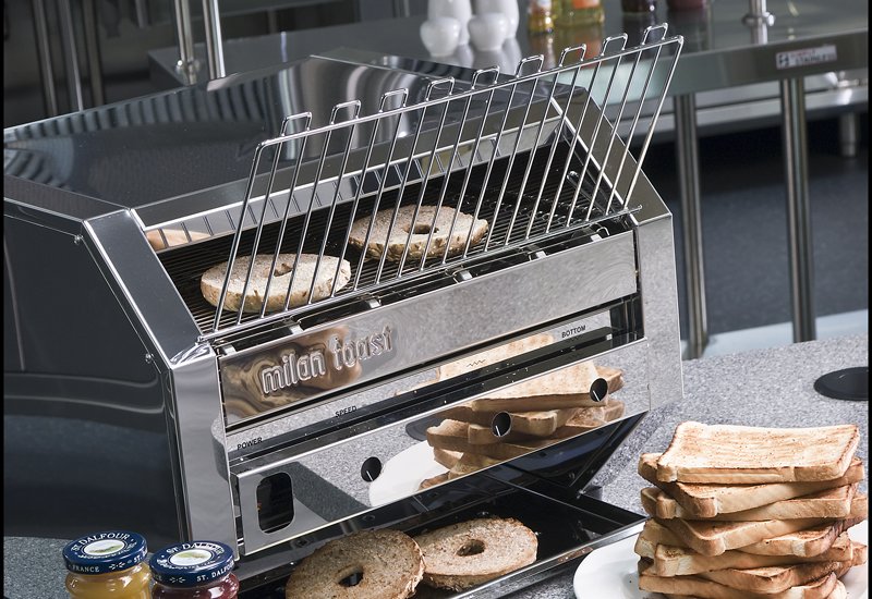 Maestrowave conveyor toaster