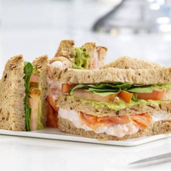 Not Always Caviar sandwich