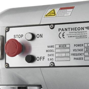 PM20 20-litre planetary mixer 3
