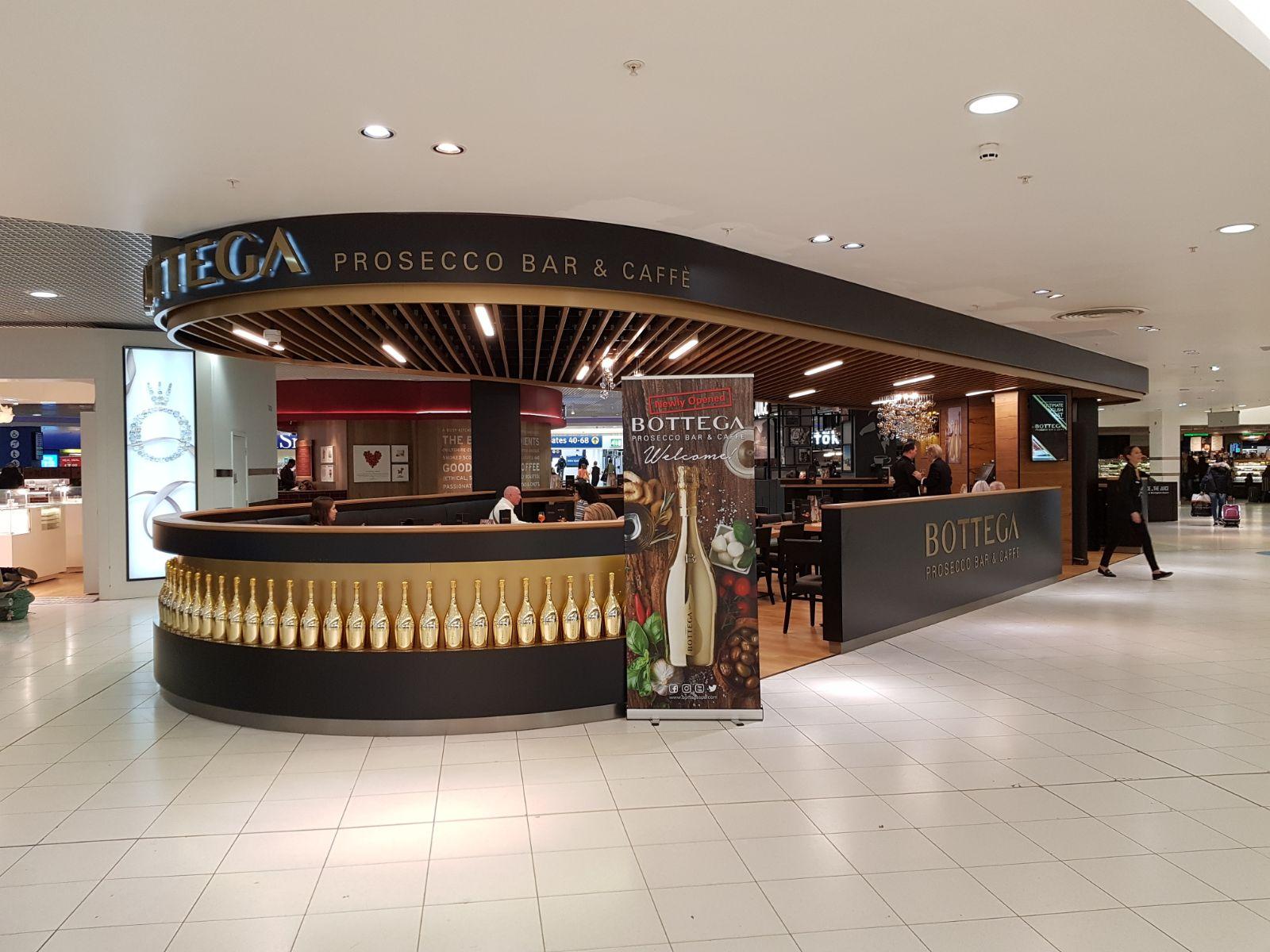 Bottega Prosecco Bar, Birmingham Airport