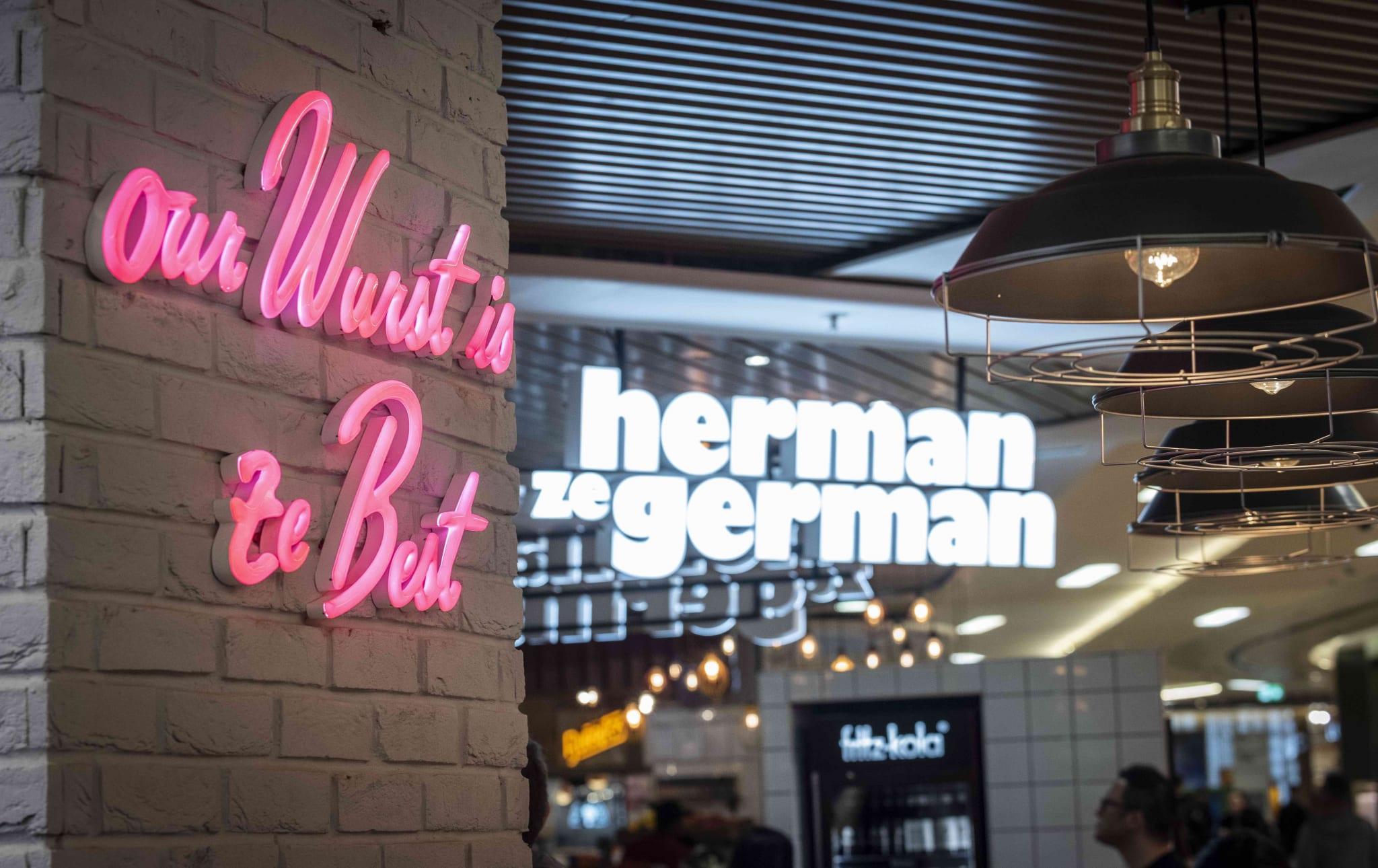 Herman Ze German, Birmingham Grand Central 2