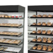 Fri-Jado multi-deck hot food merchandisers
