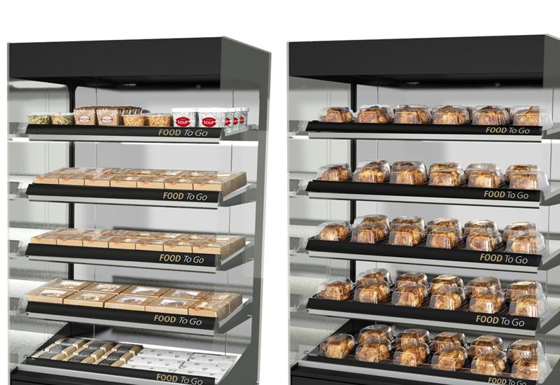 Fri-Jado multi-deck hot food merchandisers