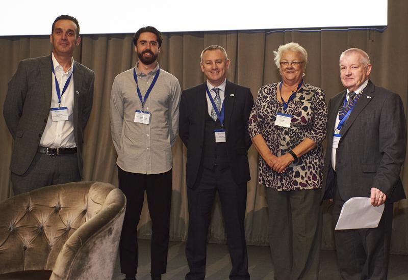 Paul Neville, Tyron Stephens-Smith, Chris Keith, Cathy Wilcox and Derek Maher