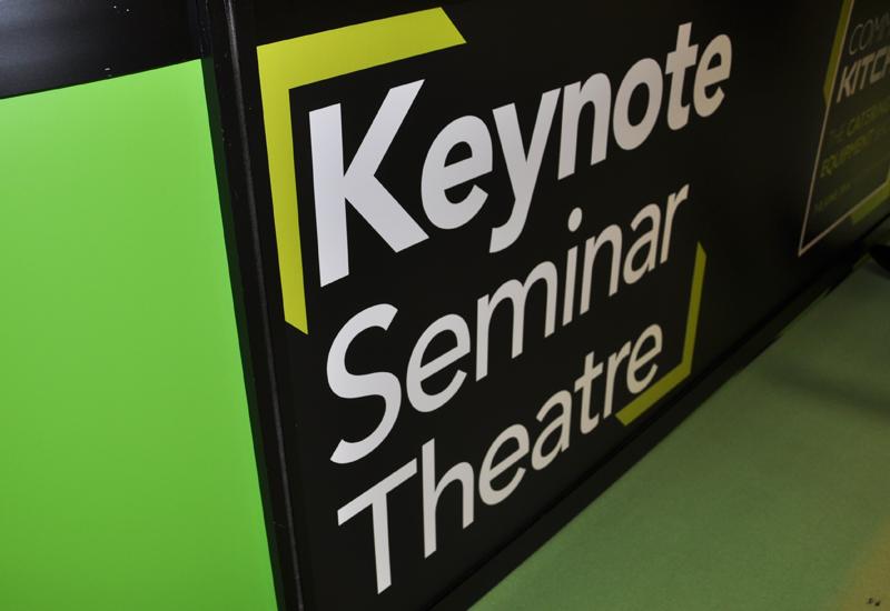 Commercial Kitchen keynote seminar theatre