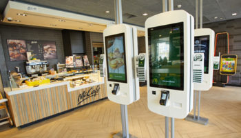 McDonald's order kiosks
