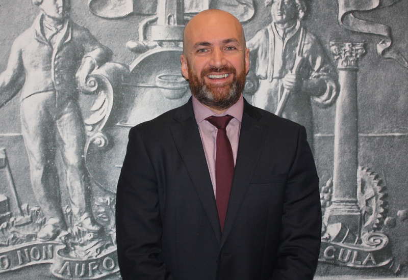 Peter McAllister, managing director