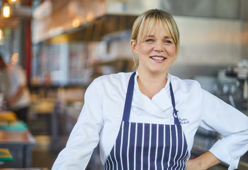 Sophie Michell, food and drink director