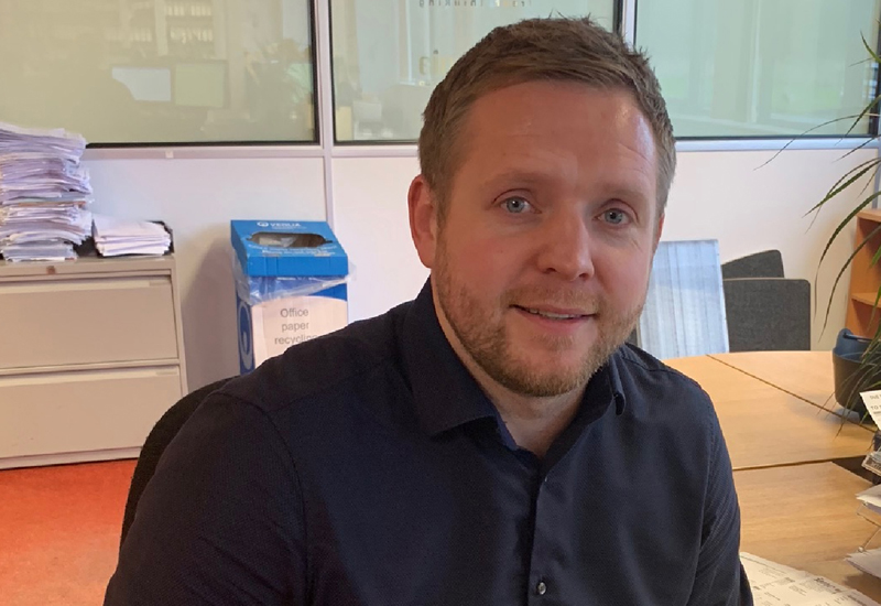 Stuart Grieves, national account manager & central UK sales manager