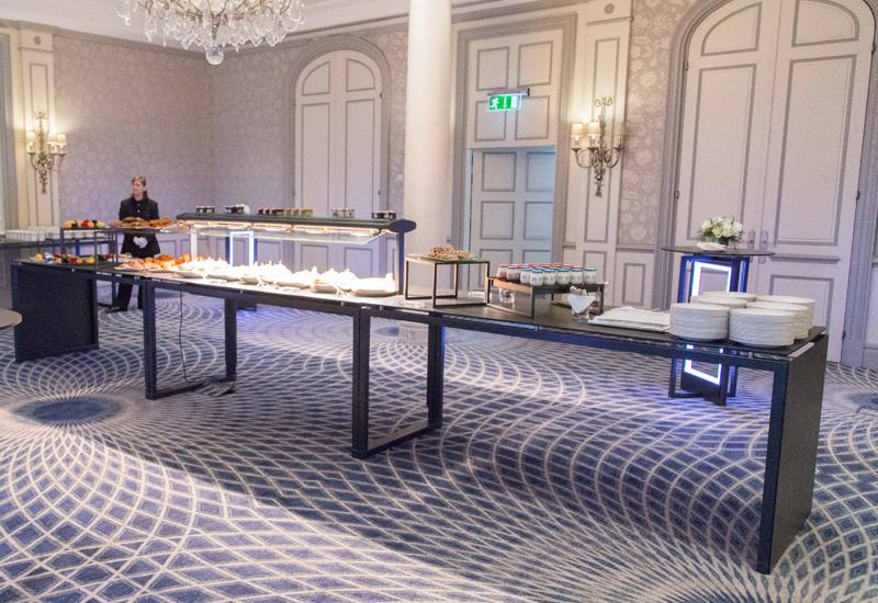 Venta buffet equipment at The Savoy hotel