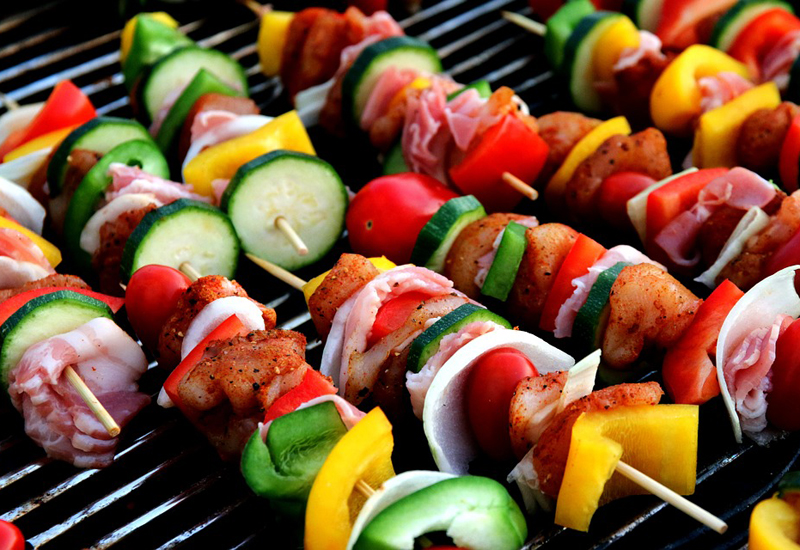 Barbecued food
