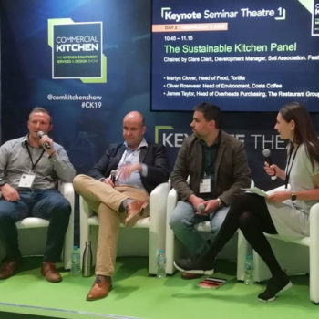 The Sustainable Kitchen Panel Commercial Kitchen 2019