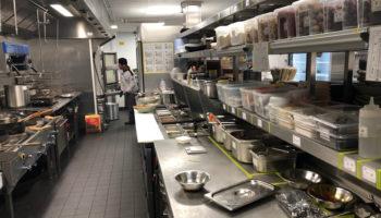 Happy Lamb Hot Pot Company kitchen