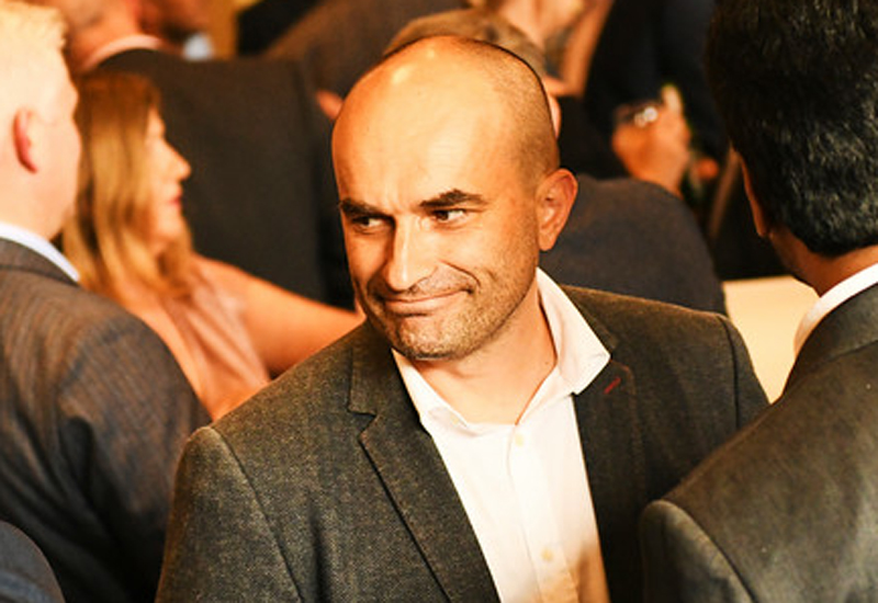 Arnaud Kaziewicz, executive chef