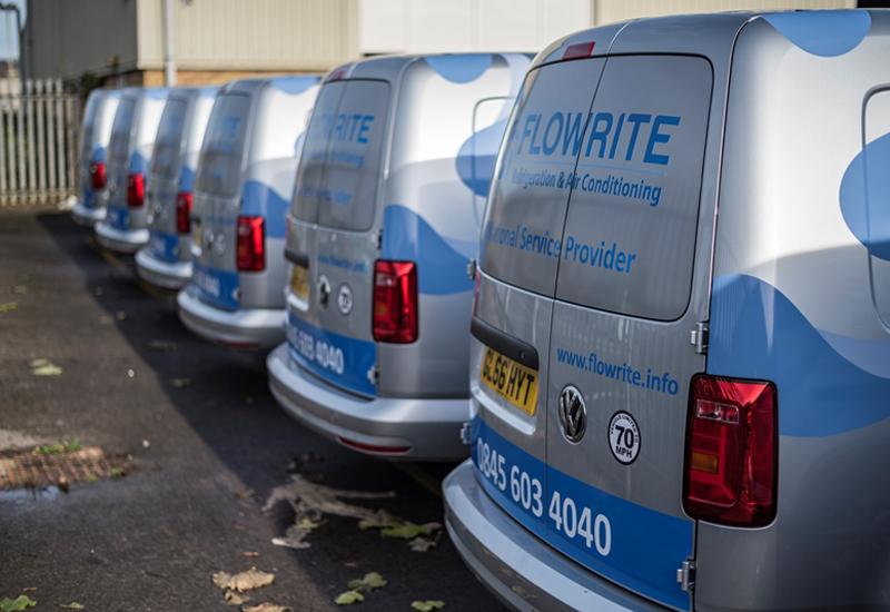 Flowrite Services vans