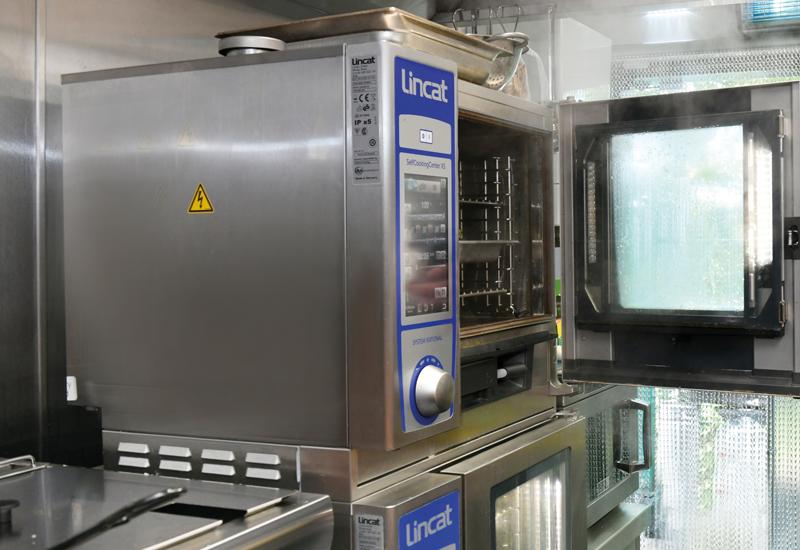 Lincat Opus combi oven