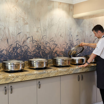 Pantheon IND360 induction hobs at Best Western Premier Mount Pleasant Hotel 1