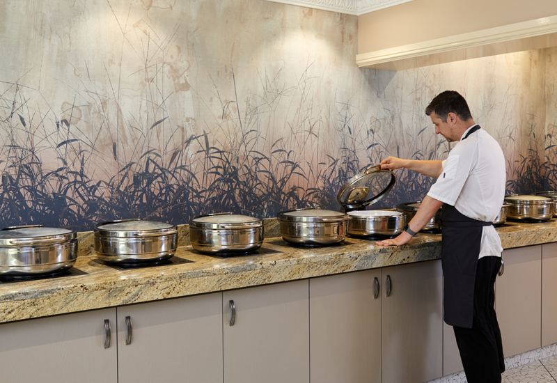 Pantheon IND360 induction hobs at Best Western Premier Mount Pleasant Hotel 1