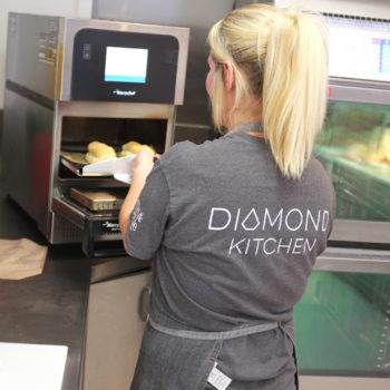 Merrychef at Diamond Kitchen, Sheffield University
