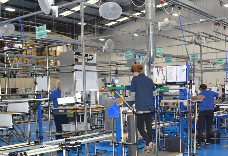 Hoshizaki factory, Telford