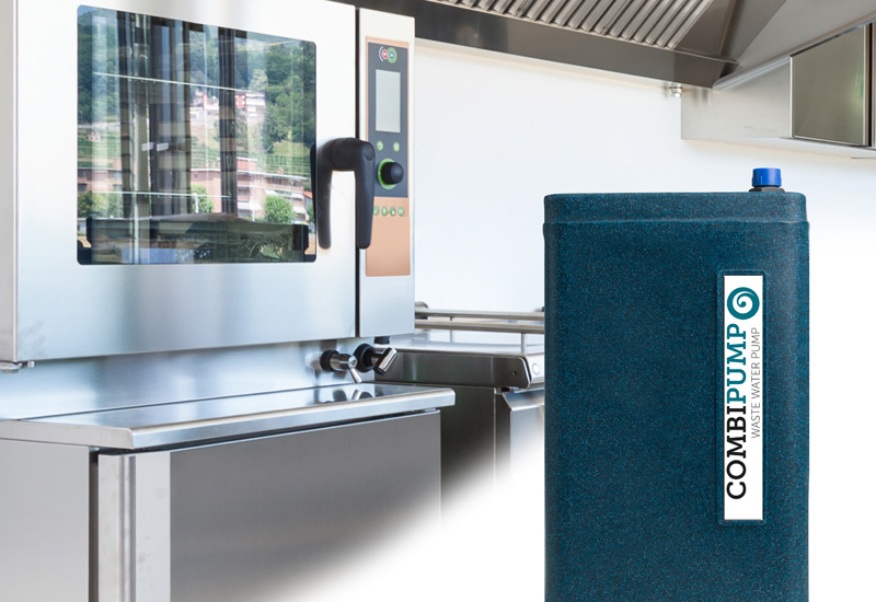 European Water Care combi oven waste water pump