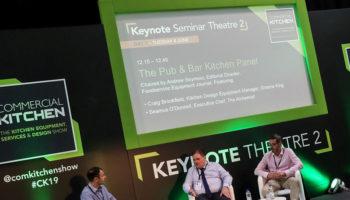 The Pub & Bar Kitchen Panel, Commercial Kitchen 2019