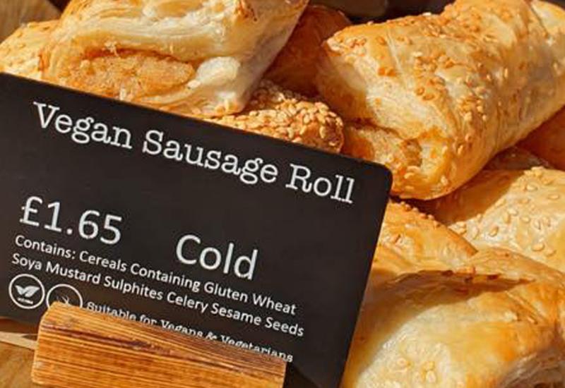 Coughlans Bakery vegan sausage rolls