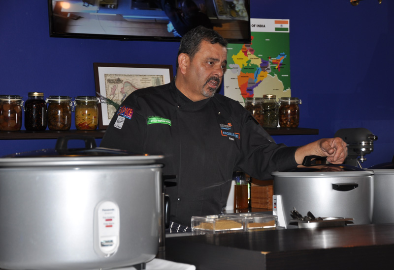 Cyrus Todiwala with Panasonic rice cookers