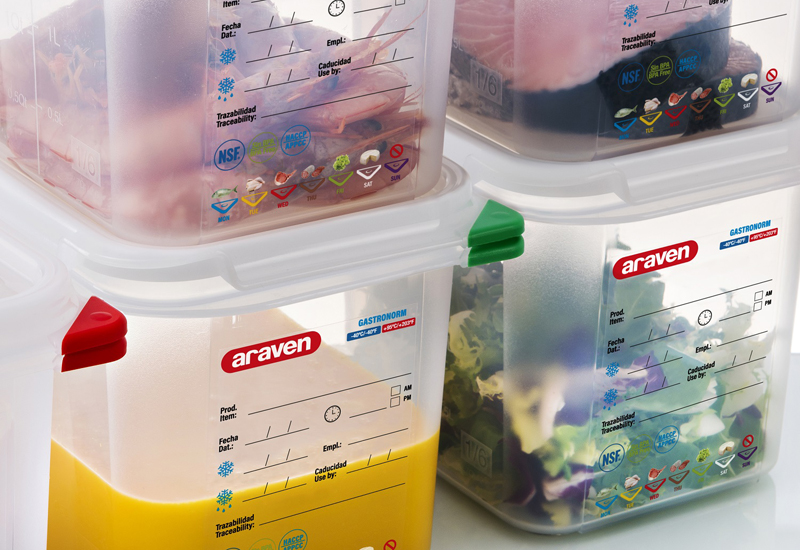 Araven air-tight containers