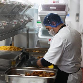 Wrap It Up! production kitchen 3