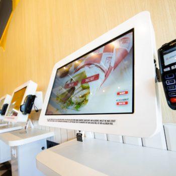 Chiktopia Kurve self-ordering kiosks