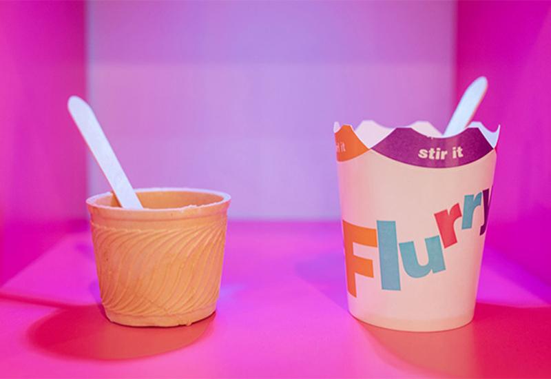 McDonald's plastic-free packaging