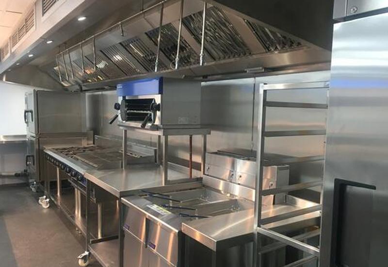Mowgli Cardiff kitchen