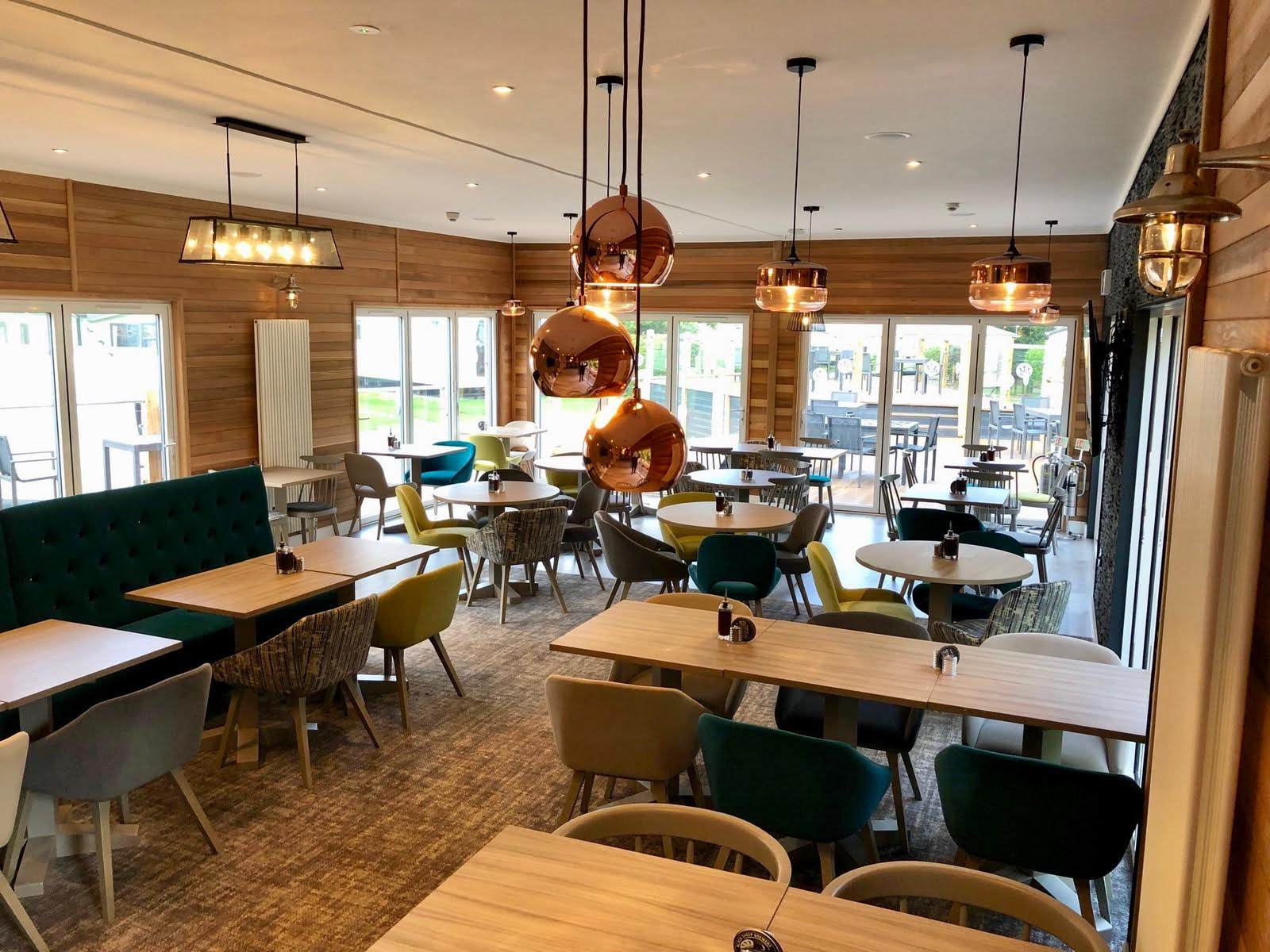 Brookhouse restaurant and bar, Rivers Edge holiday resort, Leisure Resorts