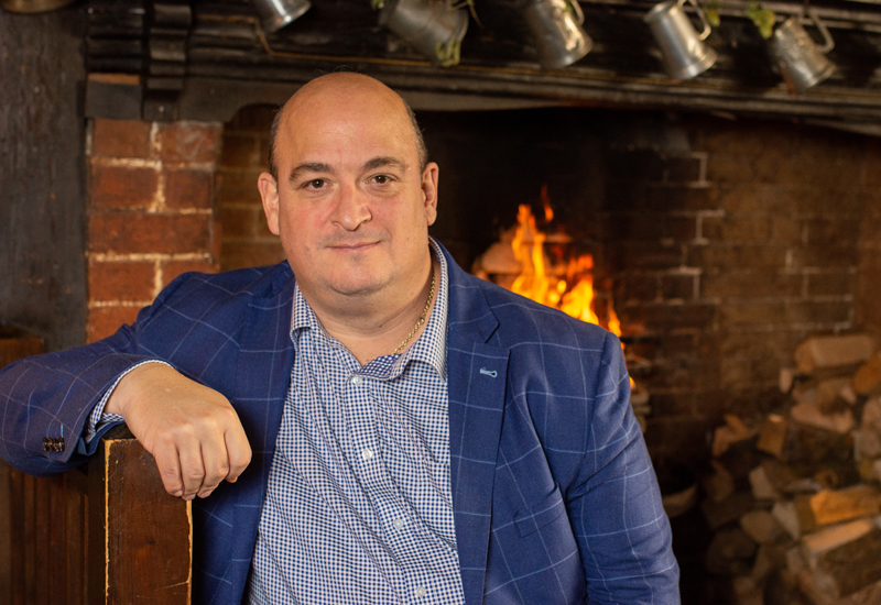 Simon Howlett, head development chef