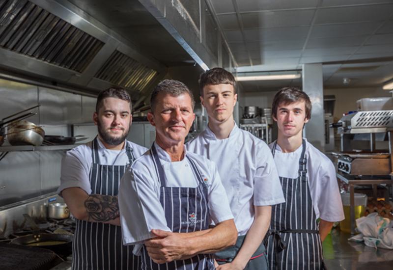 Richard Moore, group development chef